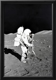 Moon Landing Astronaut Archival Photo Poster Print Posters
