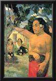 Paul Gauguin Where Do You Art Print Poster Prints