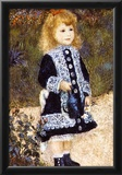 Pierre Auguste Renoir Girl with the Watering Can Art Print Poster Prints