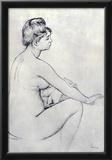 Pierre Auguste Renoir Bather Art Print Poster Prints