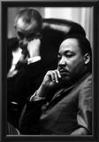 Martin Luther King Jr (With President Lyndon B Johnson) Art Poster Print Prints