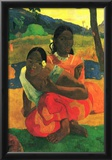 Paul Gauguin When You Hear Art Print Poster Posters