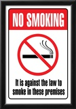 No Smoking Sign Art Print Poster Prints