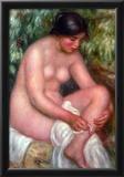 Pierre Auguste Renoir August Renoir Bathing Art Print Poster Posters