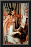 Renoir Two Girl At The Piano Art Print POSTER quality Posters
