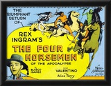 The Four Horsemen of the Apocalypse Movie Rudolphe Valentino Poster Print Posters