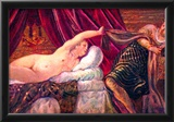 Tintoretto Joseph and the wife of Potiphar Art Print Poster Posters
