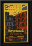 New York City (Keep Your Neighborhood Clean) Art Poster Print Posters