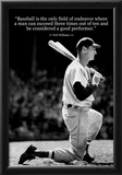 Ted Williams Baseball Famous Quote Archival Photo Poster Prints
