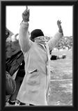 Vince Lombardi Celebrating Archival Photo Sports Poster Print Poster
