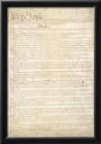 U.S. Constitution (First Page) Art Poster Print Prints