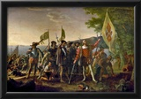 The Landing of Columbus Historical Art Print Poster Posters