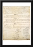 U.S. Constitution Page 4 Art Poster Print Prints