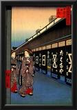 Utagawa Hiroshige Cotton-Goods Lane Art Print Poster Posters