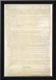 U.S. Constitution Page 2 Art Poster Print Posters