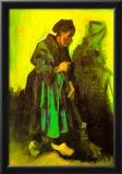 Vincent Van Gogh Return of the Farmer Art Print Poster Posters