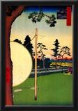 Utagawa Hiroshige Takata Riding Grounds Art Print Poster Print