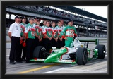 Tony Kanaan with Car and Crew 2003 Indianapolis 500 Indycar Racing Archival Photo Poster Posters