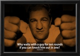 Rocky Marciano Knock Out iNspire 2 Quote Poster Posters