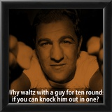 Rocky Marciano Knock Out iNspire Quote Poster Print