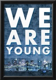 We Are Young Skyline Music Poster Prints
