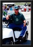AJ Foyt Kansas Speedway Archival Photo Sports Poster Print Prints