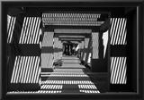 Black and White Walkway Scottsdale Arizona Prints