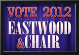 Eastwood and Chair 2012 Posters