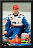 Max Papis Indycar Archival Photo Poster Poster