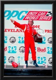 Emerson Fittipaldi Victory Circle Archival Photo Poster Prints