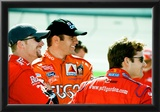 Dale Earnhardt Jr. Elliott Sadler and Jeff Gordon Archival Photo Poster Posters