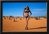 Sheridyn Fisher Red Bikini Photo