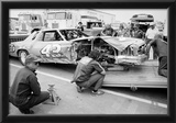 Richard Petty Wreck 1978 Archival Photo Poster Photo