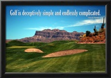 Arnold Palmer Golf Quote Poster Prints