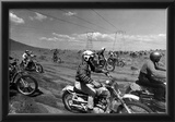 Dirt Bike Motorcyle Racing Archival Photo Poster Poster