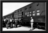 Troop Sleeper Box Car Military Train 1943 Archival Photo Poster Posters