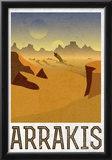 Arrakis Retro Travel Photo