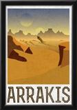Arrakis Retro Travel Photo