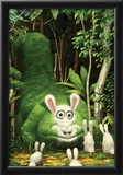 Big Bad Bunny Eater Prints by Bobby Chiu