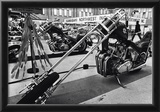 Chopper Motorcyle Archival Photo Poster Posters