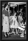 Girls in Dresses Archival Photo Poster Prints