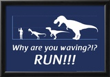 Run! Posters by  Snorg Tees