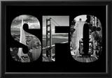 SFO San Francisco Images Archival Photo Print