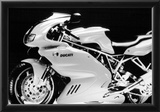 Ducati Vintage Motorcycle Archival Photo Poster Prints