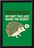 Hedgehogs Posters by  Snorg Tees