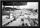 1930 Wrigley Field Construction Archival Photo Poster Print