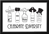 Celebrate Diversity Posters by  Snorg Tees