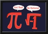 Be Rational Posters by  Snorg Tees