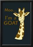 Giraffe Print by  Snorg Tees