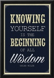 Knowing Yourself is the Beginning of All Wisdom Photo